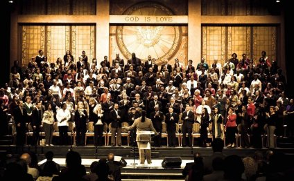 A photo of Brooklyn Tabernacle