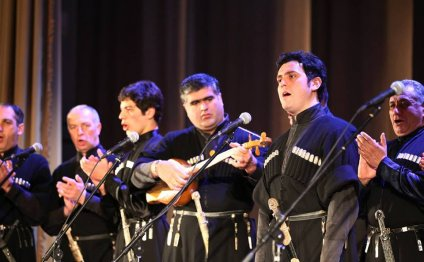 Members of the Rustavi Choir