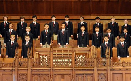 The Fort Bend Boys Choir of