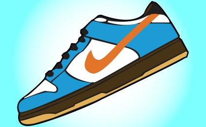 Nike Sneaker Clipart