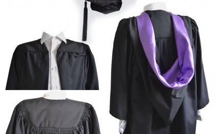 Luxury Graduation Gown +