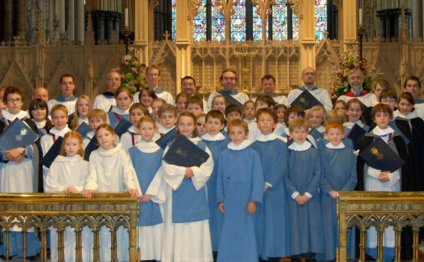 Lincoln Cathedral choir