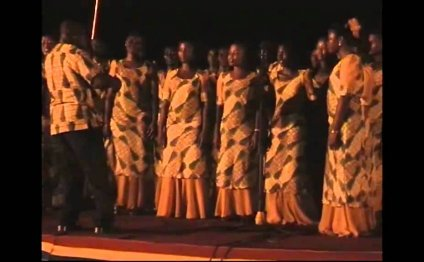 Winneba Youth Choir.mp4 @ the