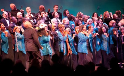 Oakland Gospel Choir Faces