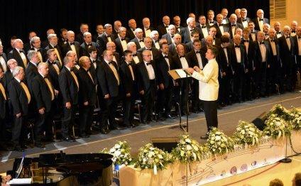 Pendyrus Male Choir looking