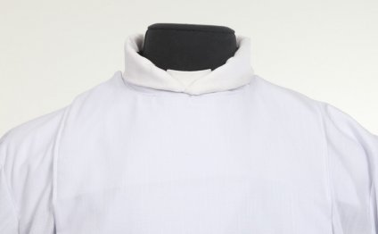 Clergy amice, Linen cotton