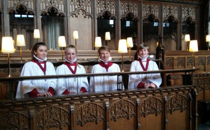 Welcome to new Choristers