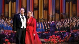 Actor John Rhys-Davies and Soprano Deborah Voigt join the Mormon Tabernacle Choir and Orchestra at Temple Square for a Christmas concert of holiday favorites.