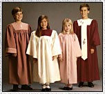 Childrens Choir Robes