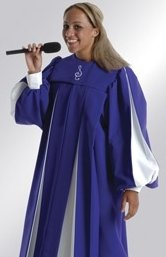 Custom choir robes from The Robe Shop