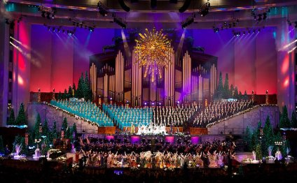 Mormon Tabernacle Choir Christmas concert