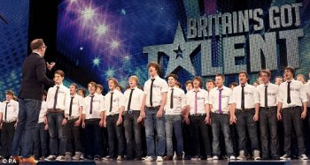 Only Boys Aloud received rapturous applause in the auditions and semi-final, belting out rousing performances of traditional Welsh hymns