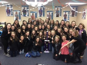 PHOTO: The Wheaton Warrenville South High School show choir won their first invitational of the year, despite their bus catching fire and destroying all of their costumes, band instruments and belongings.