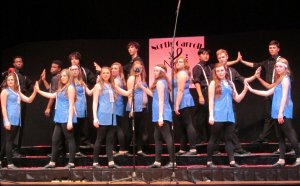Carroll High School show Choir