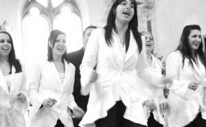 Gospel Choir wedding