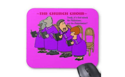 Church Choir humor
