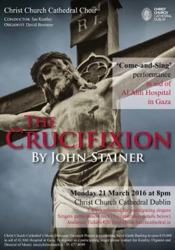 Stainer Crucifixion Poster