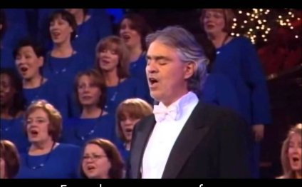 YouTube Mormon Tabernacle Choir Andrea Bocelli