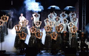 Today's top show choirs feature state-of-the-art costume design, choreography, and stage effects.