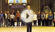 2 day old Choir singing in Liverpool Anglican Cathedral Part 1