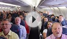 Alex Boyé and Mormon Tabernacle Choir Sing on an Airplane