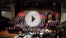 An American Trilogy, MCAA Choir 17 November, Melbourne