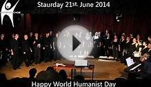 British Humanist Choir sings Goodnight Sweetheart @ One