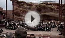 Castle View HS 2009 Graduation - Choir performance @ Red Rocks
