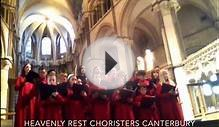 Heavenly Rest Boy and Girl Choristers Choir Pilgrimage