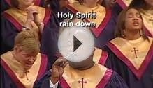 Holy Spirit Rain Down, Central Church of God, Charlotte, NC