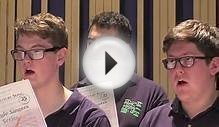 Meet the National Youth Choir of Great Britain