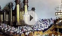 MORMON TABERNACLE CHOIR, VIDEO 3, SALT LAKE CITY, UTAH, USA