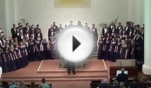 "Napa High Choir: Concert Choir Men, ""He Never Failed Me Yet"""