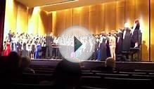 Region C Honor Choir @ Pioneer High School 2012 | The
