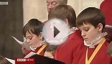 The head-chorister - Choir of Winchester Cathedral