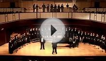 University of Indianapolis Concert Choir, March 4, 2012
