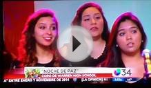 Warren High School Choir Performance on Univision