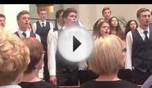 "The Napa High School Concert Choir sings "" High Barbary"""